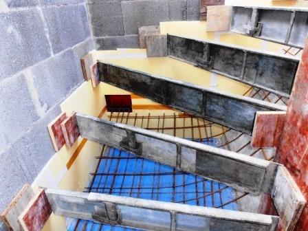 betontreppe fertigschalung gel nder f r au en. Black Bedroom Furniture Sets. Home Design Ideas